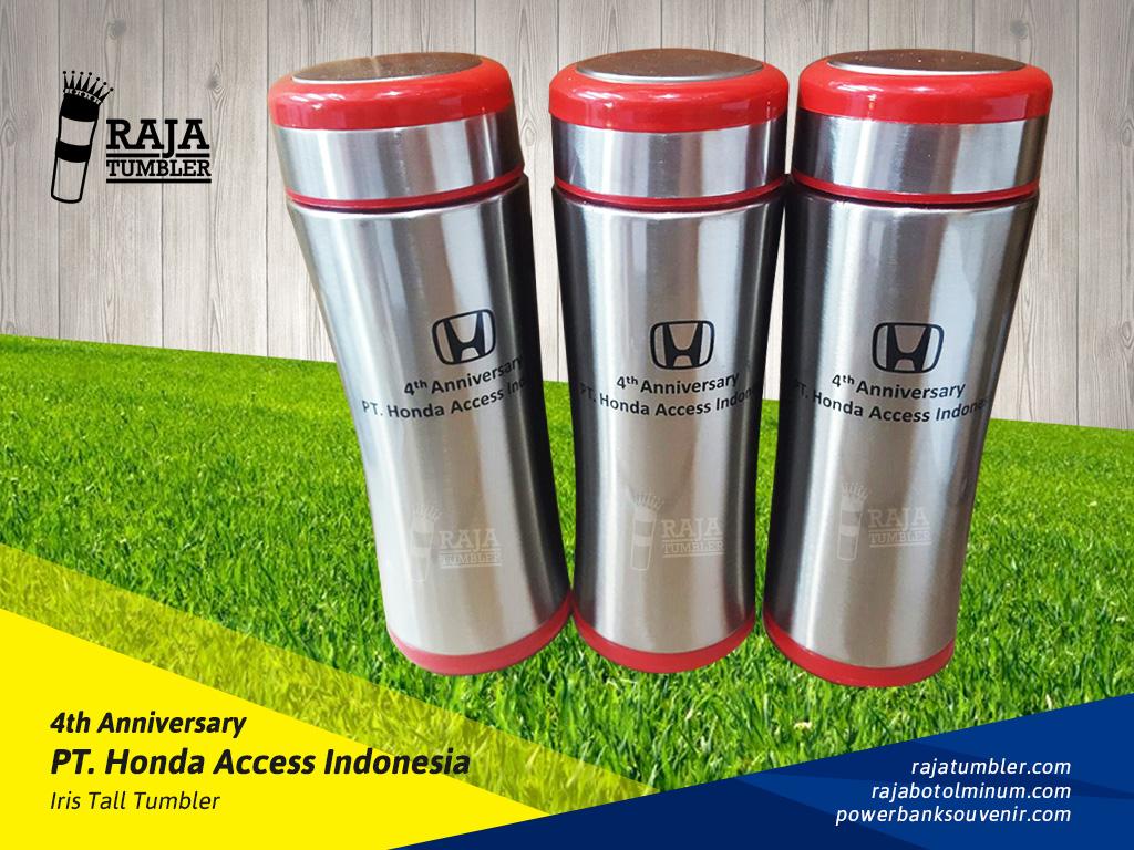 Tempat-Bikin-Souvenir,Tempat Bikin Merchan dise-Honda-Access-Indonesia,-Tumbler-Iris, Souvenir Ulang Tahun