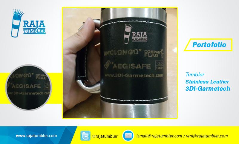 mug-stainless-kulit-mug-stainless-leather-Mug-3digarmetech-portfolio-Raja-Tumbler, pusat tumbler murah, pusat souvenir kementerian, tempat beli souvenir, jual mug