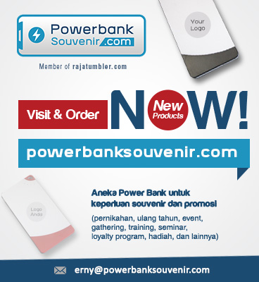 Grosir Tumbler, Tempat Beli Powerbank, Powerbank Souvenir, Tumbler Insert Paper Murah, Tempat Bikin Mug Custom