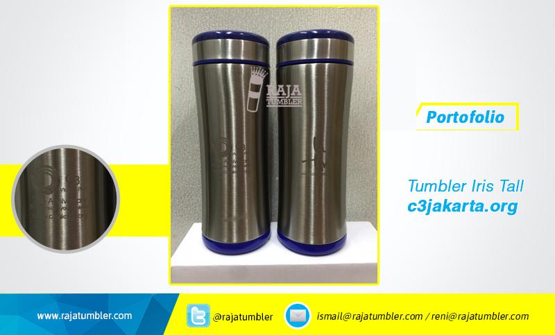 Jual-Tumbler-stainless-steel-c3jakarta,-termos-stainless-c3jakarta,-termos-promosi-mug-stainless, Tempat bikin souvenir, laser sablon tumbler
