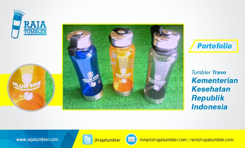 Pusat bikin Tumbler, Raja-Tumbler-Kemenkes,Kementerian-Kesehatan-Republik-Indonesia, jual-tempat-minum-jual-botol-minum-souvenir-pernikahan-souvenir-ulang-tahun