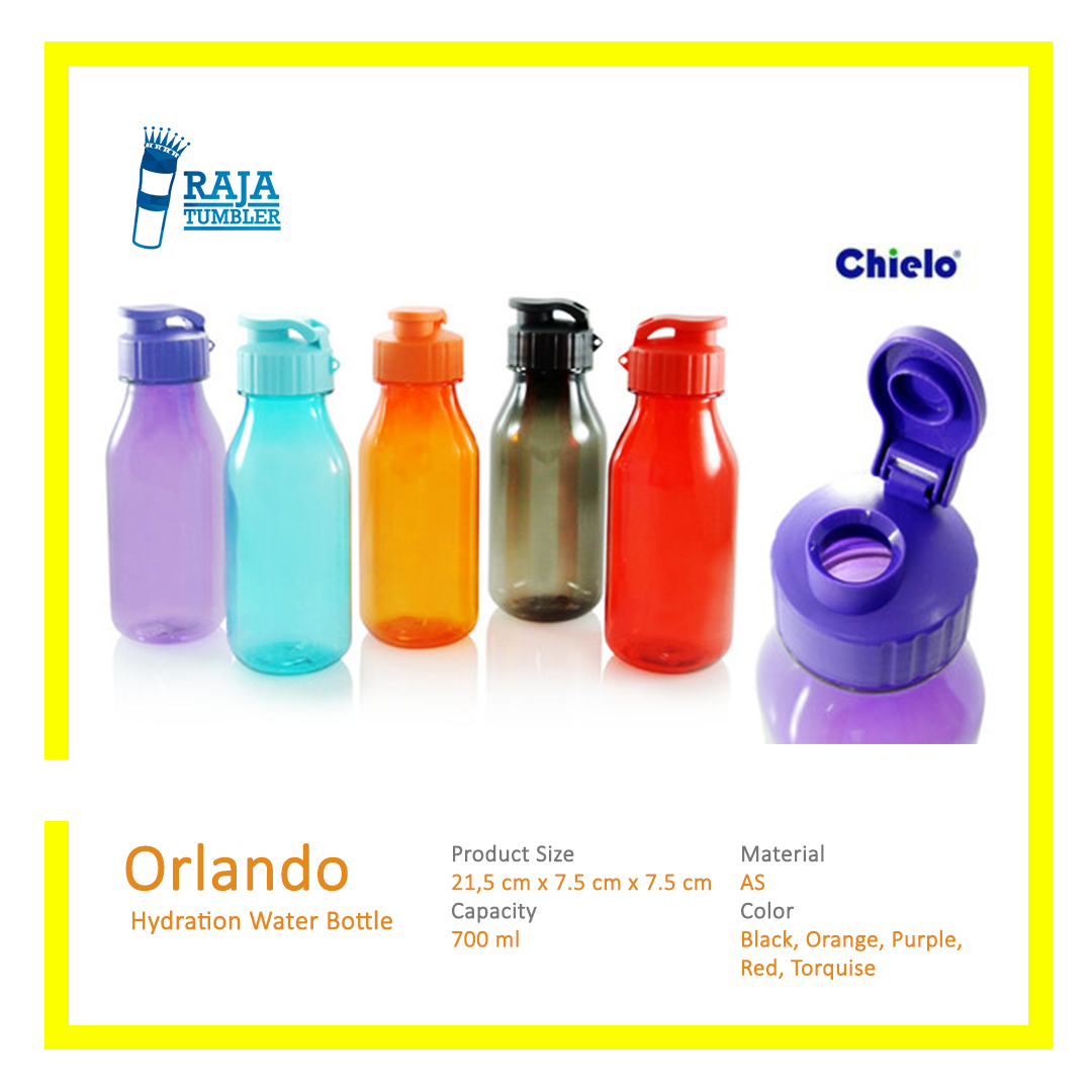 Souvenir-Botol-Minum-Custom-Plastik---Chielo-Orlando---Raja-Tumbler